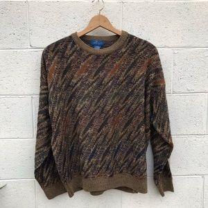 Vintage Crewneck Knit Sweater
